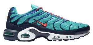 Nike men sneakers Nike Air Max Plus Air Max plus Hyper JadeFlash CrimsonObsidian