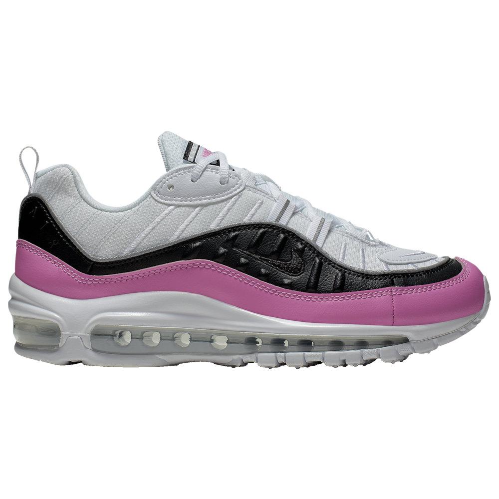 ナイキ レディース/ウーマン スニーカー Nike Air Max 98 カジュアルシューズ White/Black/China Rose