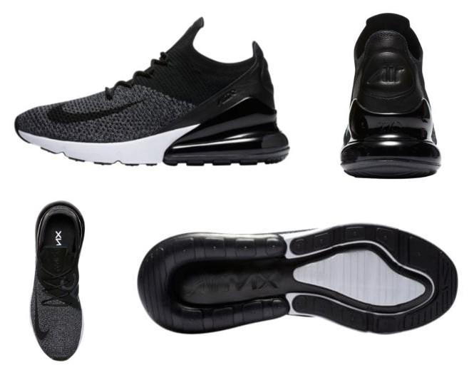 Nike Air Max 270 Flyknit Oreo