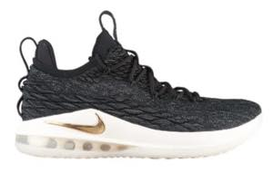 ナイキ メンズ Nike Lebron 15 XV Low バッシュ Black/Metallic Gold/Phantom/Coral Stardust レブロン15