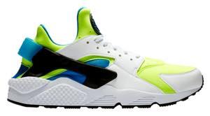 ナイキ メンズ スニーカー Nike Air Huarache SE エア ハラチ ランニングシューズ White/Volt/Black/Photo Blue