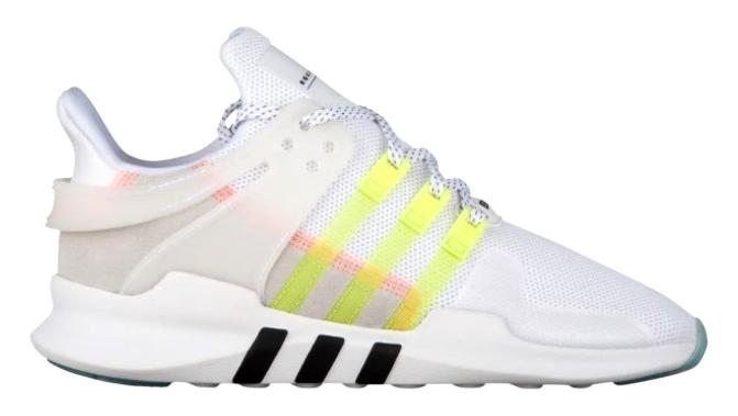 アディダス オリジナルス レディース adidas Originals EQT Support ADV スニーカー White/Semi Frozen Yellow/Black