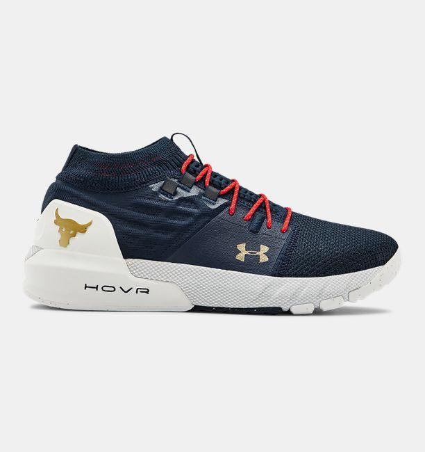アンダーアーマー メンズ プロジェクト ロック2 UA Project Rock 2 Training Shoes トレーニングシューズ Academy/Halo Gray