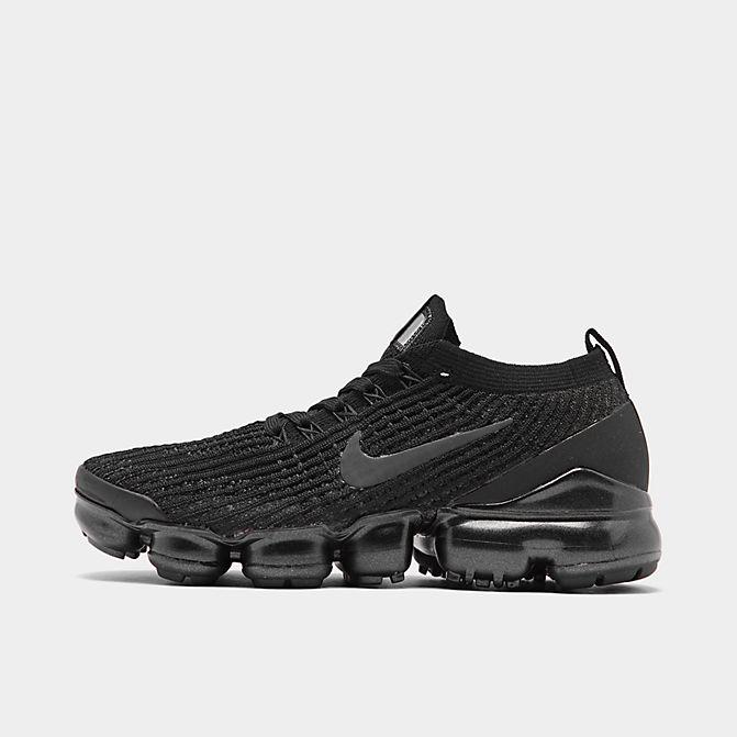 ナイキ レディース ヴェイパーマックス3 Nike Air Vapormax Flyknit 3 ランニングシューズ Black/Anthracite/White/Metallic Silver