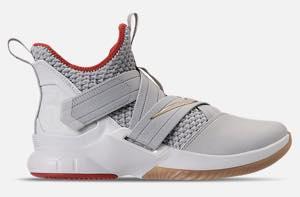 ナイキ メンズ バスケットボール シューズ Nike LeBron Soldier XII 12 レブロン ソルジャー Light Bone/White/Red/Gum