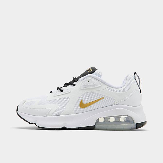 ナイキ メンズ Nike Air Max 200 エアマックス200 スニーカー White/Metallic Gold/Black