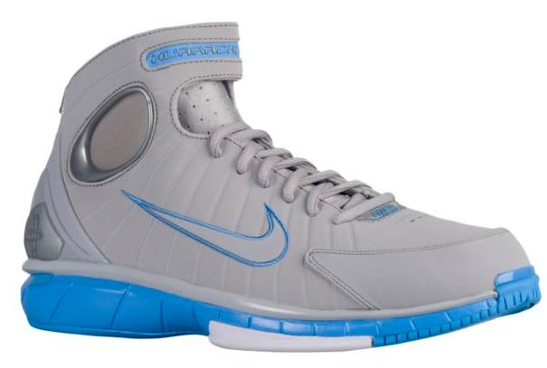 ナイキ メンズ ズームハラチ Nike Air Zoom Huarache 2K4 バッシュ Wolf Grey/University Blue/White