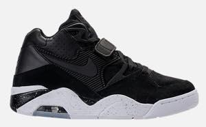 ナイキ メンズ スニーカー Nike Air Force 180 エアフォース 180 Black/Black/White