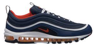 ナイキ メンズ スニーカー Nike Air Max '97 エアマックス 97 Midnight Navy/Habanero Red/Black/White