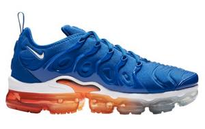 ナイキ メンズ ランニングシューズ Nike Air VaporMax Plus Running Shoes ヴェイパーマックス プラス スニーカー Game Royal/White/Black/Total Orange