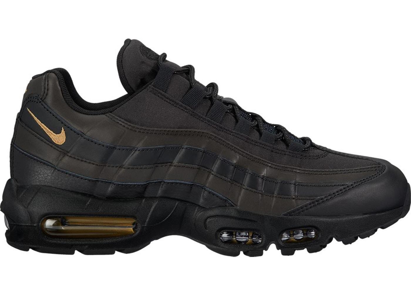 ナイキ メンズ エアマックス95 Nike Air Max 95 Hidden Reflective BLACK/METALLIC GOLD