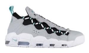 ナイキ メンズ スニーカー Nike Air More Money エア モアマネー Wolf Grey/Island Green/Black