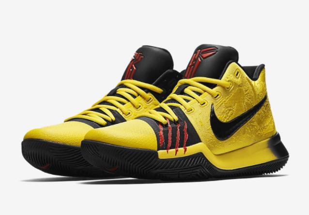 2f6cca7a106 low cost nike kyrie 3 mamba mentality bruce lee tour yellow black 3 kyrie  irving 09471
