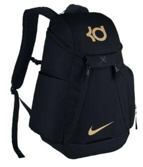 NIKE KD MAX AIR IX BACKPACKメンズ Black/Metallic Gold バックパック ナイキ リュックサック