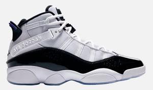 ナイキ ジョーダン メンズ バスケットボール シューズ Air Jordan 6 Rings バッシュ White/Black/Concord