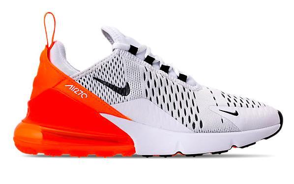 即納 Max ナイキ 270 レディース エアマックス270 Nike Orange Air Max 270