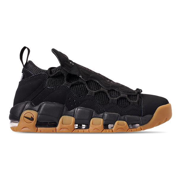 ナイキ メンズ スニーカー Nike Air More Money エア モアマネー Black/Black/Gum Light Brown