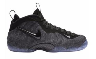 "Nike Air Foamposite Pro ""Tech Fleece"" メンズ Dark Grey Heather/Black-Black ナイキ フォームポジット バッシュ"