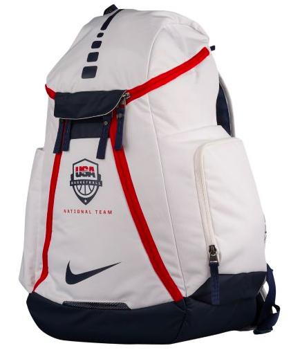 Nike Hoops Elite Max Air USA Backpack メンズ White/Midnight Navy バックパック ナイキ リュックサック eb