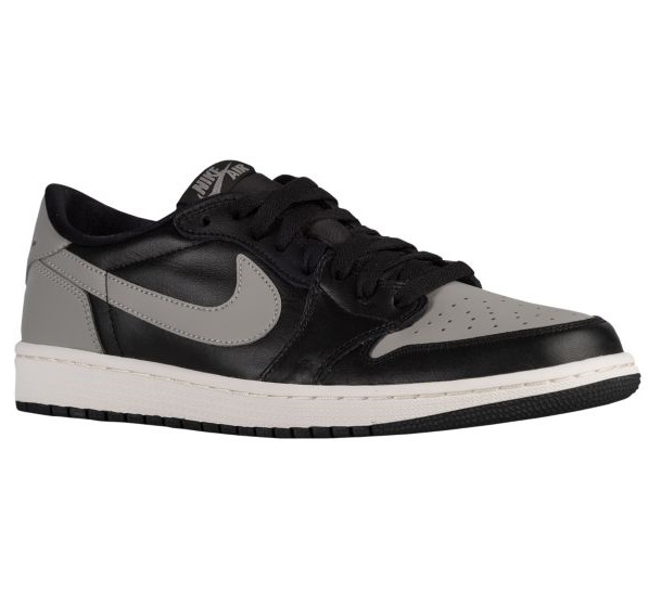 Jordan Retro 1 Low OG メンズ Black/Medium Grey/Sail ジョーダン スニーカー