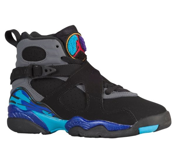 Jordan Retro 8 キッズ/レディース Black/True Red/Flint Grey/Bright Concord ジョーダン バッシュ