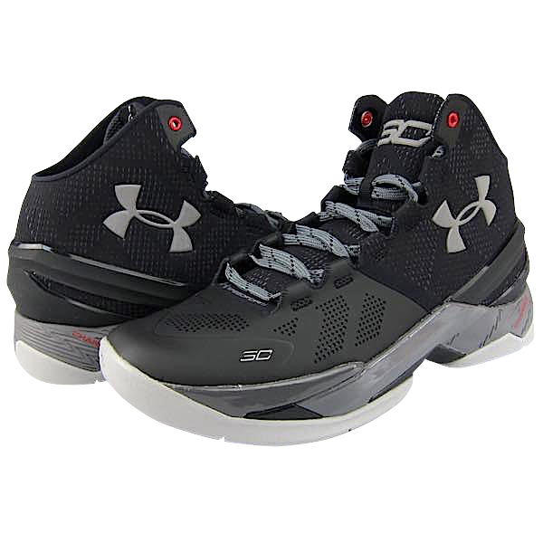 Under Armour Curry 2 'THE PROFESSIONAL' メンズ Black/Graphite/Metallic Silver アンダーアーマー Stephen Curry ステフィン・カリー バッシュ