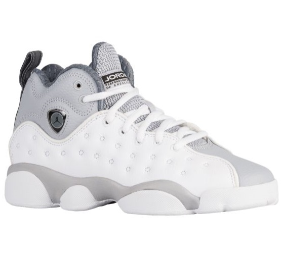 Jordan Jumpman Team II 2キッズ/レディース White/Black/Wolf Grey/Cool Grey ジョーダン バッシュ