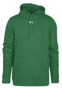 アンダーアーマー メンズ Under Armour Team Hustle Fleece Hoodie パーカー フーディー Team Kelly Green/White