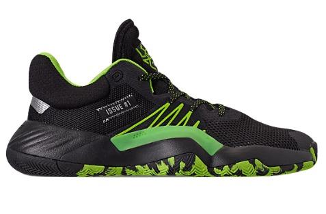 アディダス メンズ ドノバン ミッチェル adidas D.O.N. Issue 1 バッシュ Black/Team Solar Green/Silver Metallic