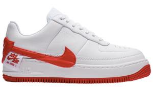 ナイキ レディース スニーカー Nike Air Force 1 Jester エアフォース 1 ジェスター White/University Red