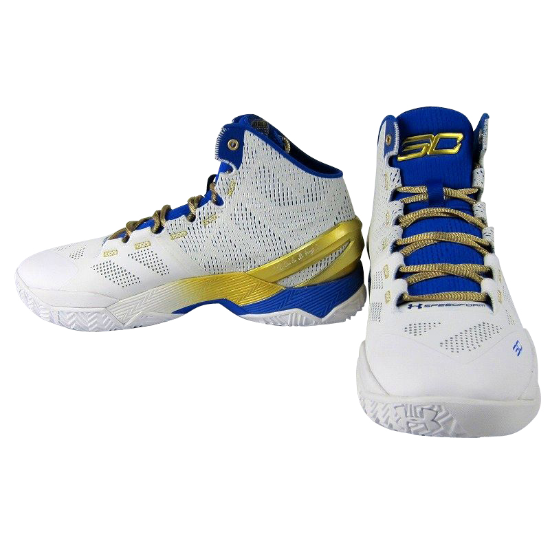 low priced 2181d f795c 在庫僅少】 Under Armour Curry 2 Gold Ringsメンズ White/True ...