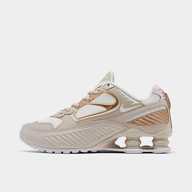 ナイキ レディース Nike Shox Enigma Casual shoes スニーカー Desert Sand/White/Summit White/Lt S