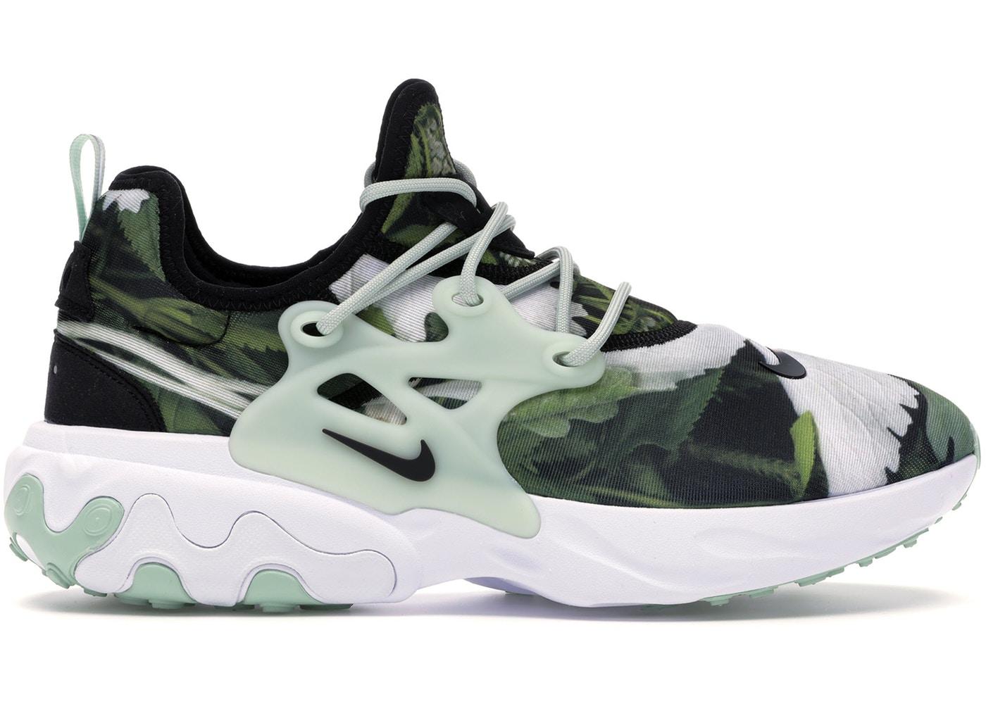 ナイキ メンズ エアハラチ Nike React Presto Premium Running shoes ランニングシューズ Pistachio Frost/Black/White スニーカー