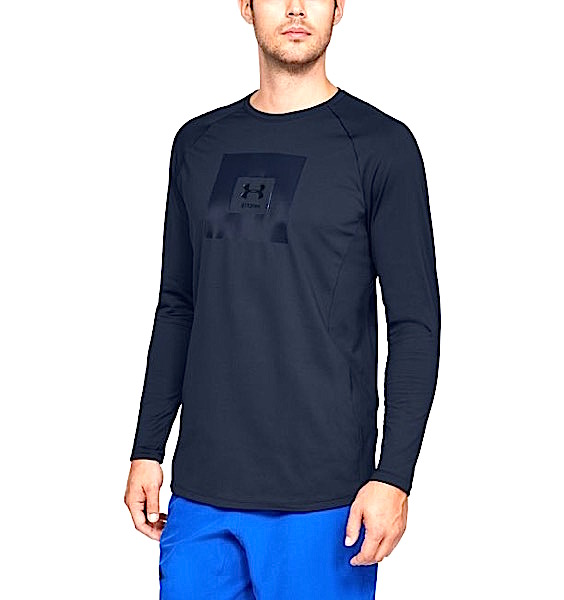 アンダーアーマー メンズ Under Armour UA Storm Cyclone ColdGear Crew Long Sleeve T-Shirt 長袖 Tシャツ Academy