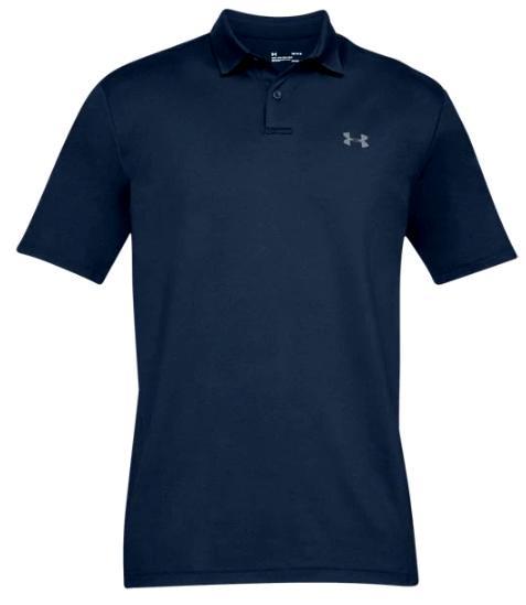 【コレ買ってきて】2/20より注文順に発送開始予定 送料無料 アンダーアーマー メンズ Under Armour Performance Textured Golf Polo Shirt ゴルフ ポロシャツ Academy