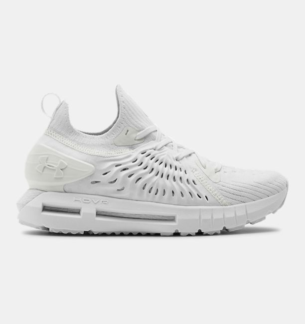 アンダーアーマー レディース Under Armour HOVR Phantom RN Night Running Shoes ランニングシューズ White/White