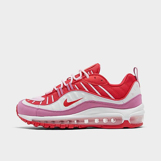 ナイキ レディース エアマックス98 Nike Air Max 98 スニーカー Track Red/Magic Flamingo/White