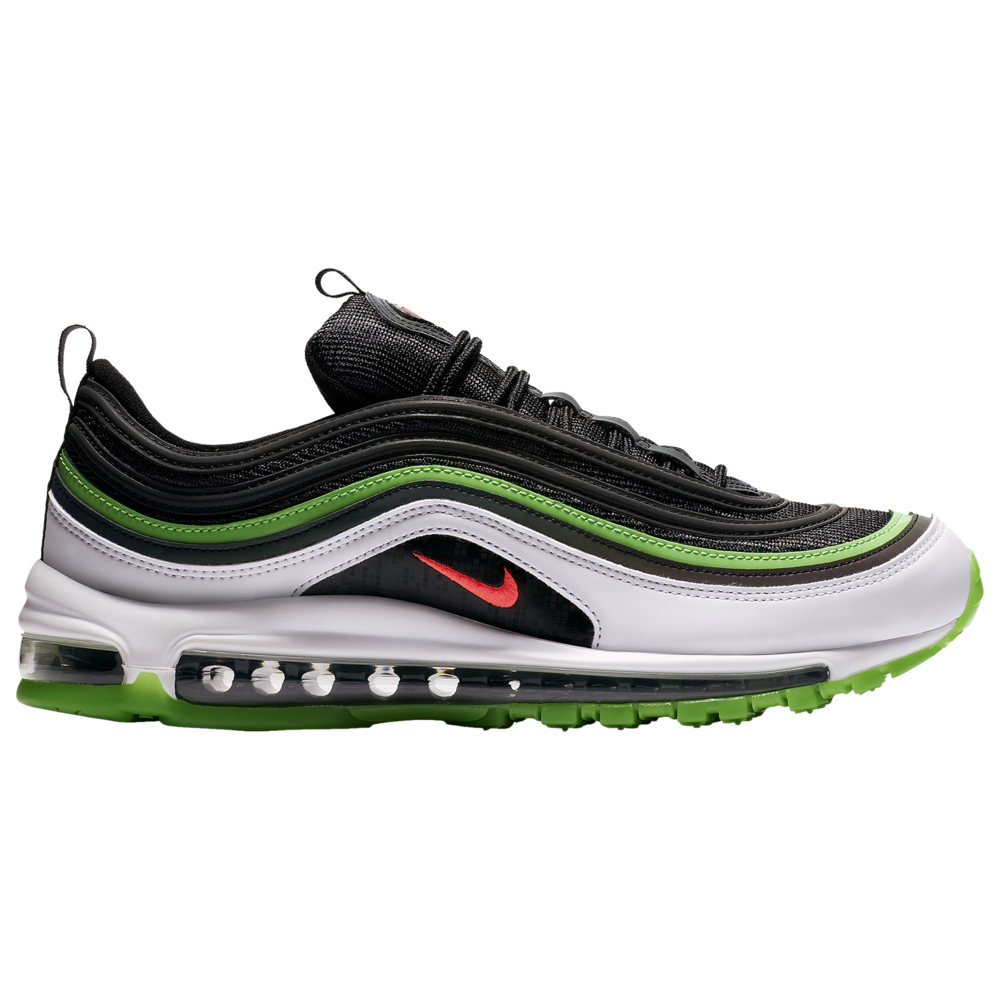 ナイキ メンズ エア マックス97 Nike Air Max '97 スニーカー Black/Bright Crimson/White/Rage Green
