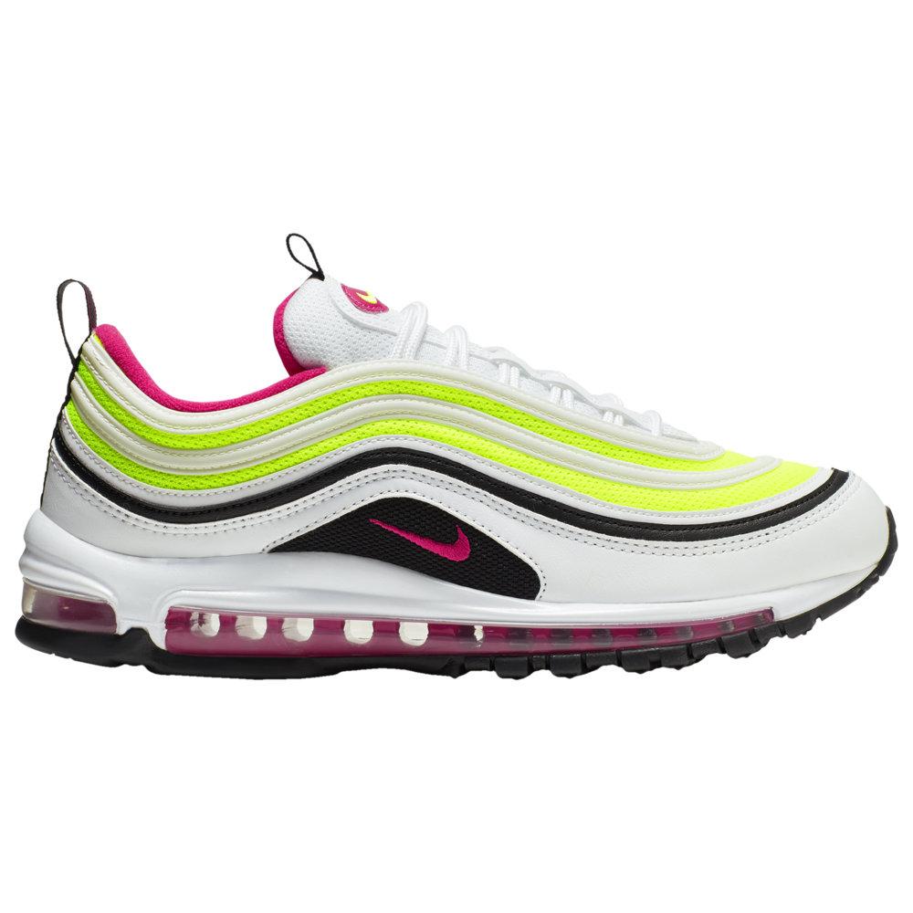 ナイキ メンズ エア マックス97 Nike Air Max '97 スニーカー White/Rush Pink/Black/Volt 高額レア