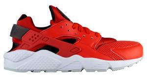 ナイキ メンズ スニーカー Nike Air Huarache エア ハラチ ランニングシューズ Habanero Red/Black/White/Pure Platinum/Dark Grey