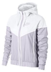 ナイキ ガールズ/レディース ウィンドブレイカー Nike Windrunner Wind Jacket ジャケット マウンテンパーカー Barely Grape/White