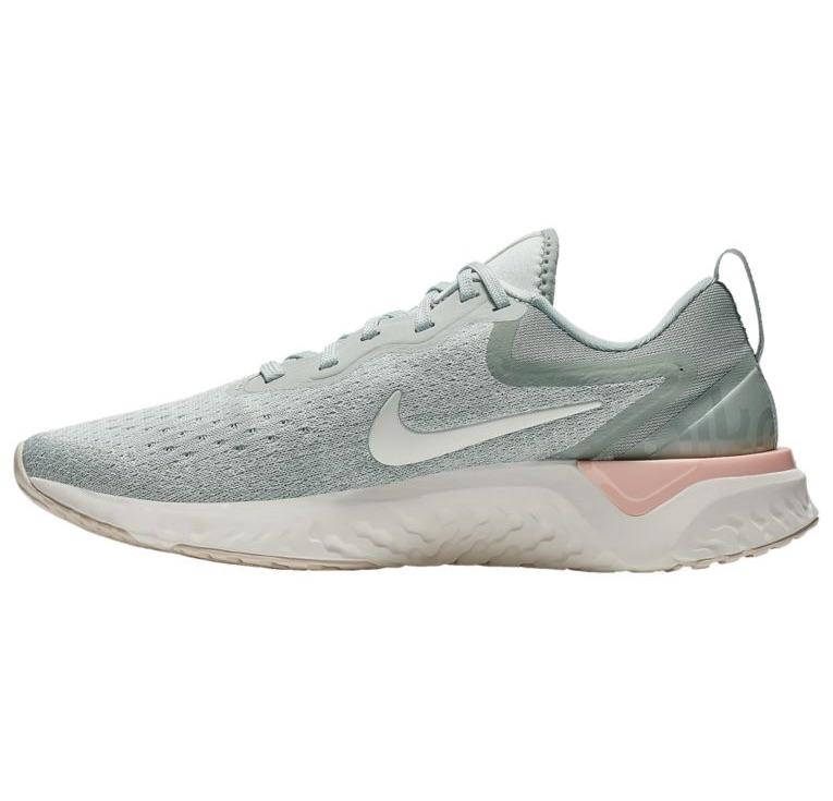 ナイキ レディース オデッセイ リアクト Nike Odyssey React ランニングシューズ Lt Silver/Sail/Mica Green/Crimson Tint/Lt Cream