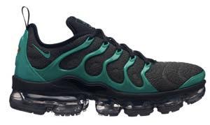 ナイキ メンズ ランニングシューズ Nike Air VaporMax Plus Running Shoes ヴェイパーマックス プラス スニーカー Black/Clear Emerald/Cool Grey/Dark Grey