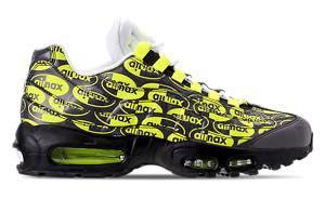 ナイキ メンズ エアマックス95 Nike Air Max 95 Premium スニーカー Black/Volt/Ash White