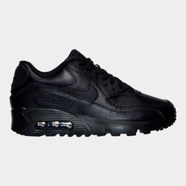 ナイキ キッズ/レディース エアマックス90 Nike Air Max 90 GS スニーカー Black/Black