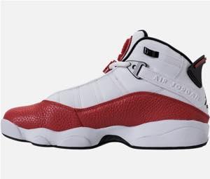 huge discount ee444 adda1 Nike Jordan men basketball shoes Air Jordan 6 Rings basketball shoes  White/Black/University Red