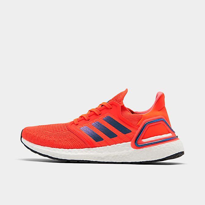 アディダス メンズ ウルトラブースト 20 adidas Ultra Boost 20 ランニングシューズ Solar Red/Boost Blue Violet Metallic