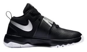 ナイキ ボーイズ/キッズ Silver/White/レディース Nike バッシュ Nike バッシュ Hustle D 8 バスケ シューズ Black/Met Silver/White, 神山町:da73041e --- ww.thecollagist.com