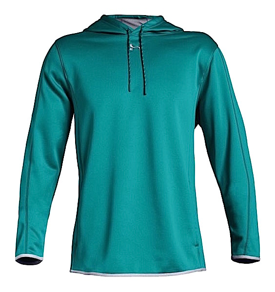 アンダーアーマー メンズ Under Armour Armour Fleece Double Threat Hoodie パーカー フーディー Coastal Teal / Steel