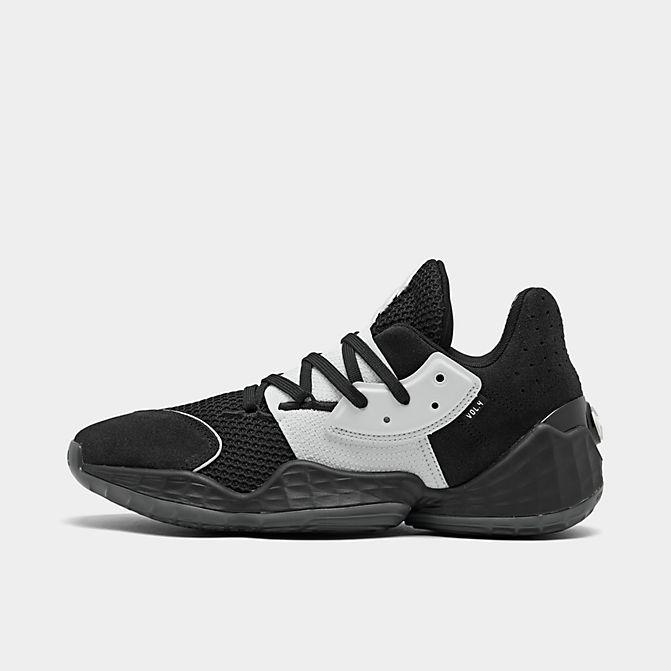 アディダス メンズ バッシュ Adidas Harden Vol.4 ハーデン ボリューム4 Core Black/Footwear White